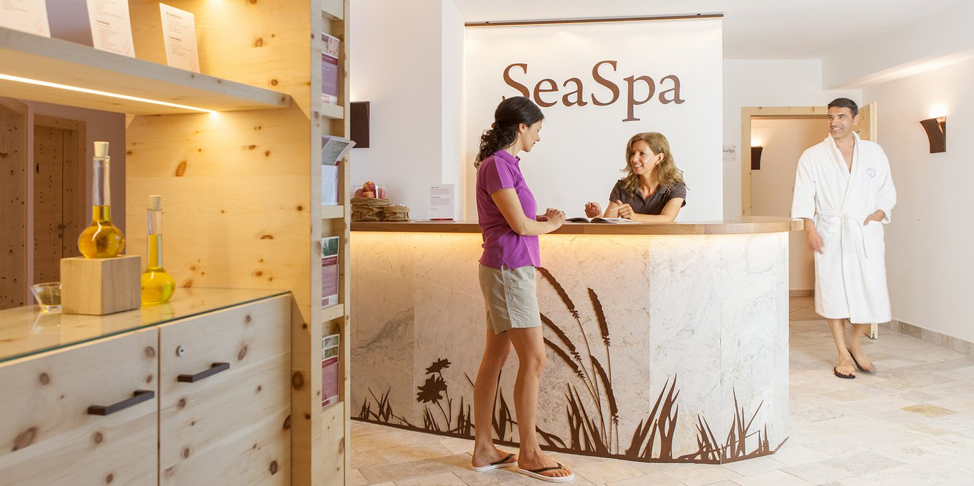 SeaSpa Reception
